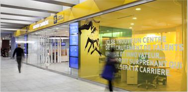 Accessible et branchée - Station carrière de la Banque Laurentienne
